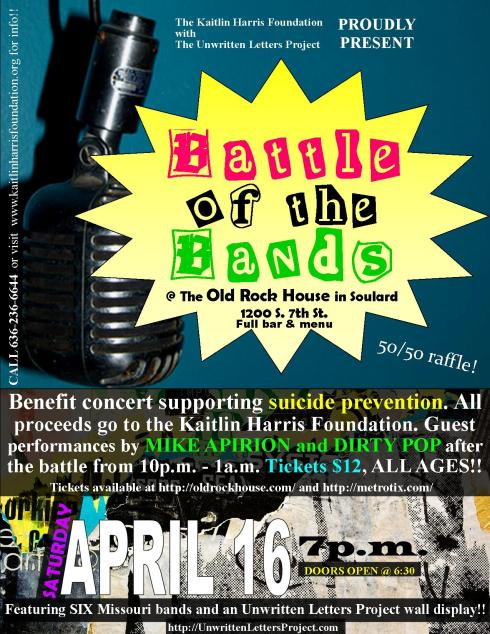 April 16, 2011 at The Old Rock House 7p.m.